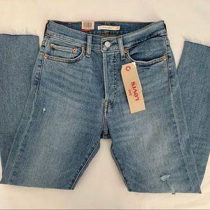 Brand new Levi's Wedgie Skinny denim jeans, 27